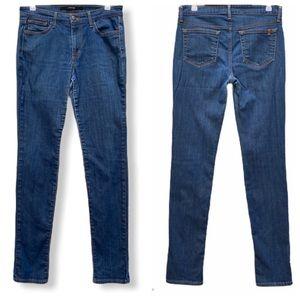 Joe's Jeans High Rise Skinny Jeans Nahya Wash